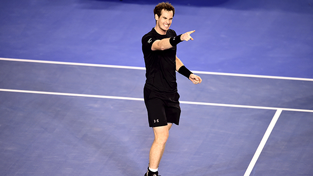Tennis Australian Open Quarterfinals - Mens: Andy Murray