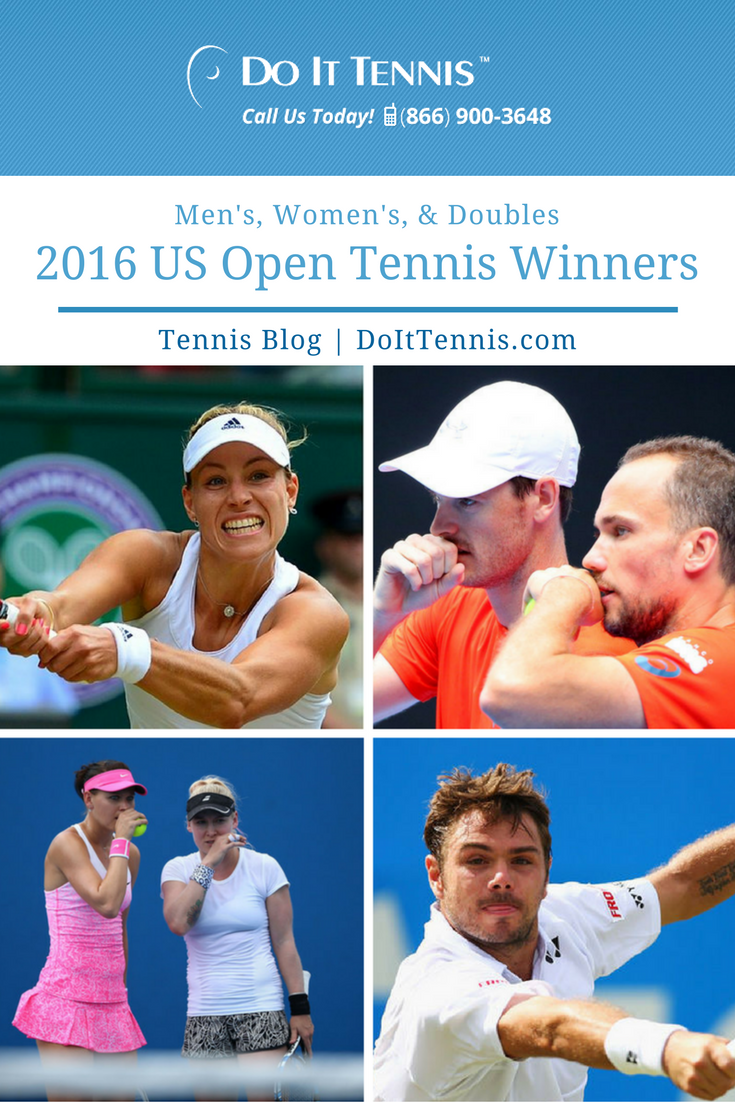 2016 US Open Tennis Winners