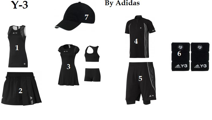 Adidas Y-3 Tennis Apparel