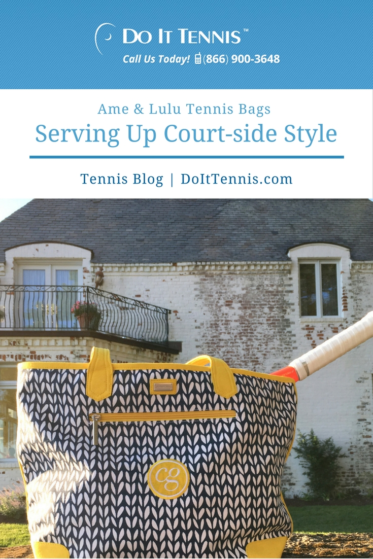 Ame Lulu Tennis Bags Serve Up Courtside Style Blog Doittennis