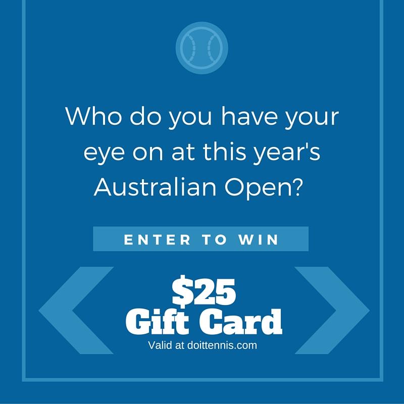 2016 Australian Open Giveaway