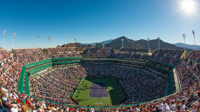 Tennis Stadium @ BNP Paribas Open