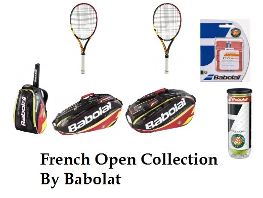 Babolat French Open Tennis Gear Collection