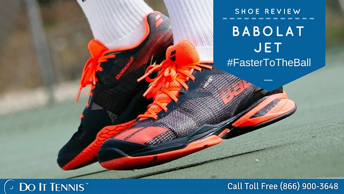 Babolat Jet Tennis Shoe Review #‎FasterToTheBall‬