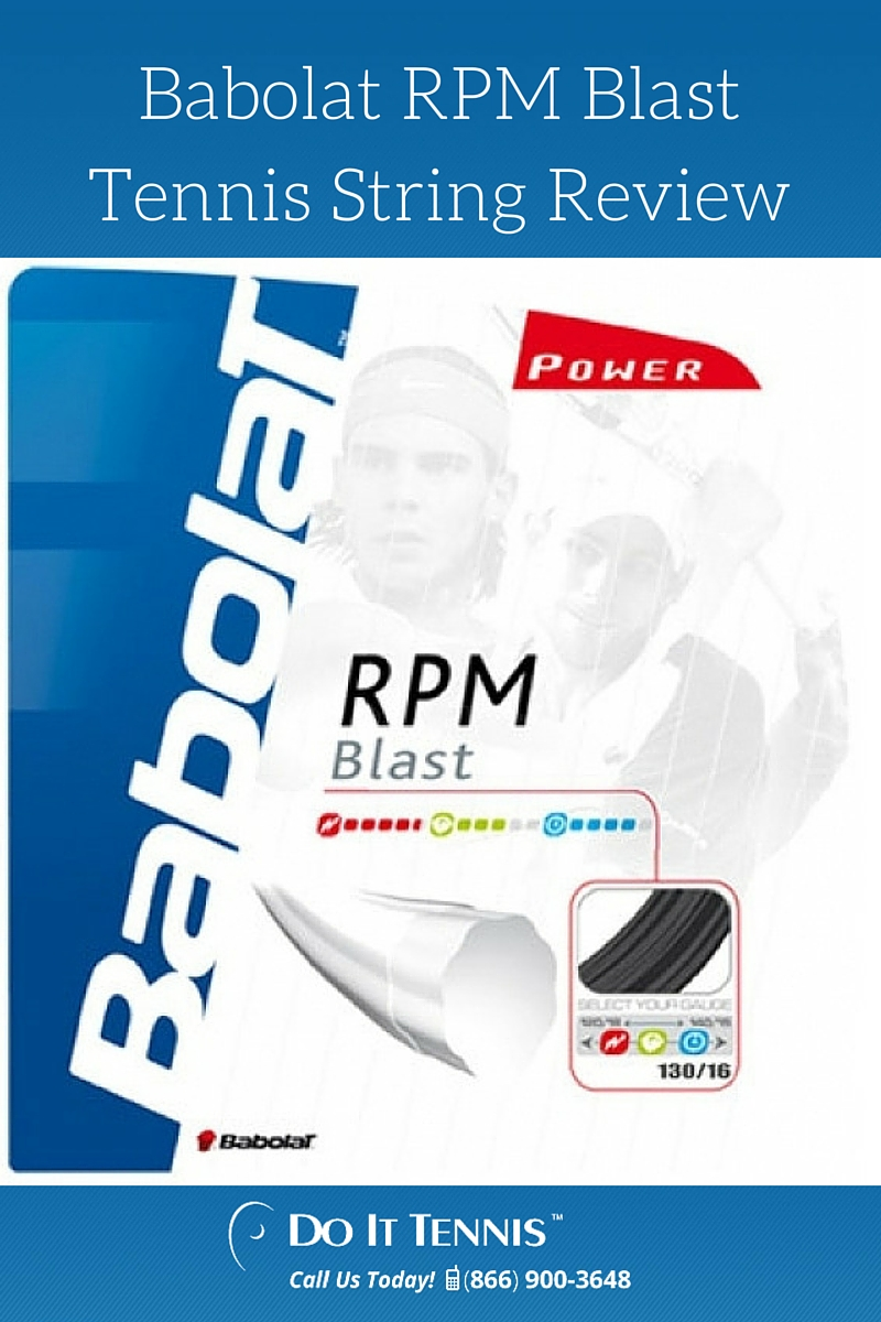 Babolat RPM Blast Tennis String Review