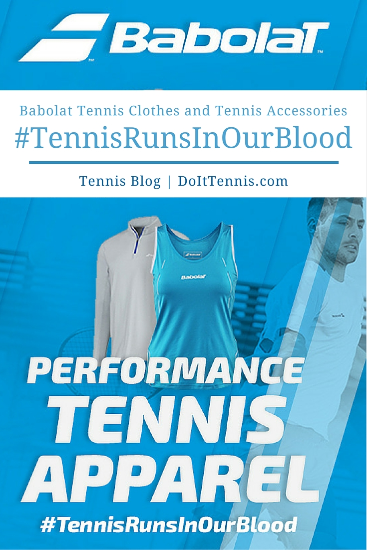 Babolat Tennis Clothes, Tennis Outfits, Tops, Shirts and Shorts