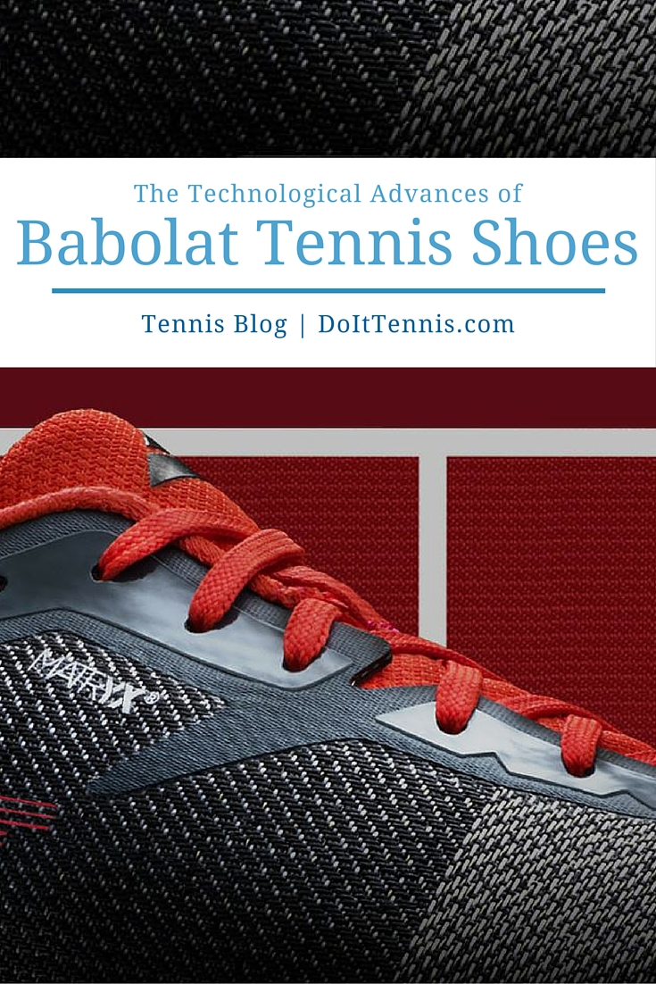 Babolat Tennis Shoe Technology Advances
