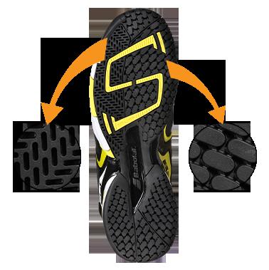 Babolat tennis shoe technology - Micheling OCS2