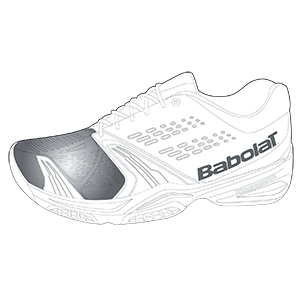 Babolat tennis shoe technology - s shield reinforced upper