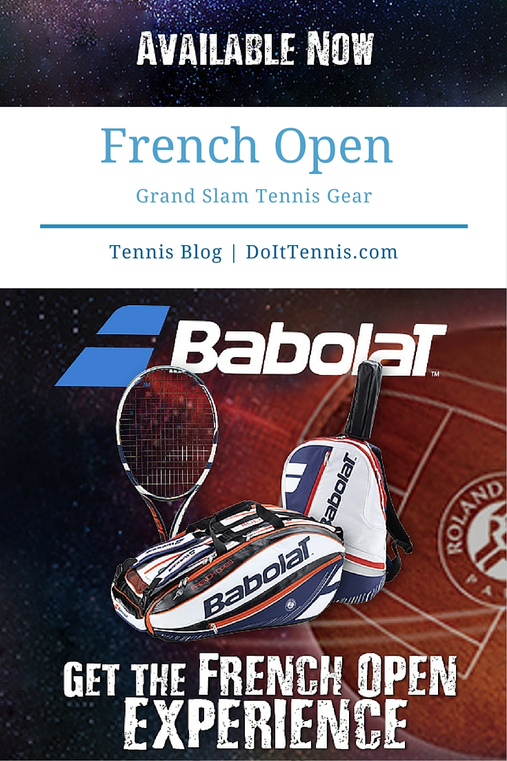 Babolat's Grand Slam French Open Tennis Gear