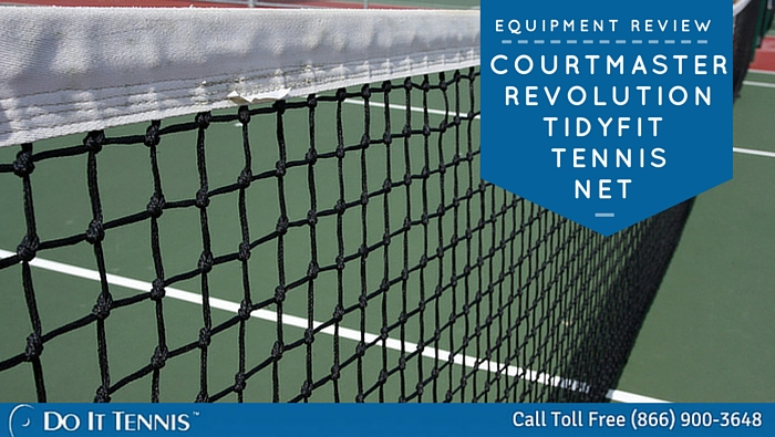 COURTMASTER REVOLUTION TIDYFIT TENNIS NET REVIEW