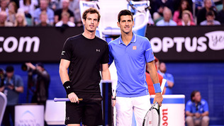 Tennis Players: Murray and Djokovic