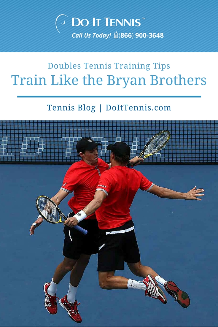 Doubles Tennis Training Tips: Train Like the Bryan Brothers
