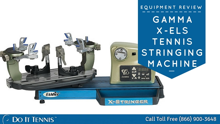 Gamma X-ELS Tennis Stringing Machine Review
