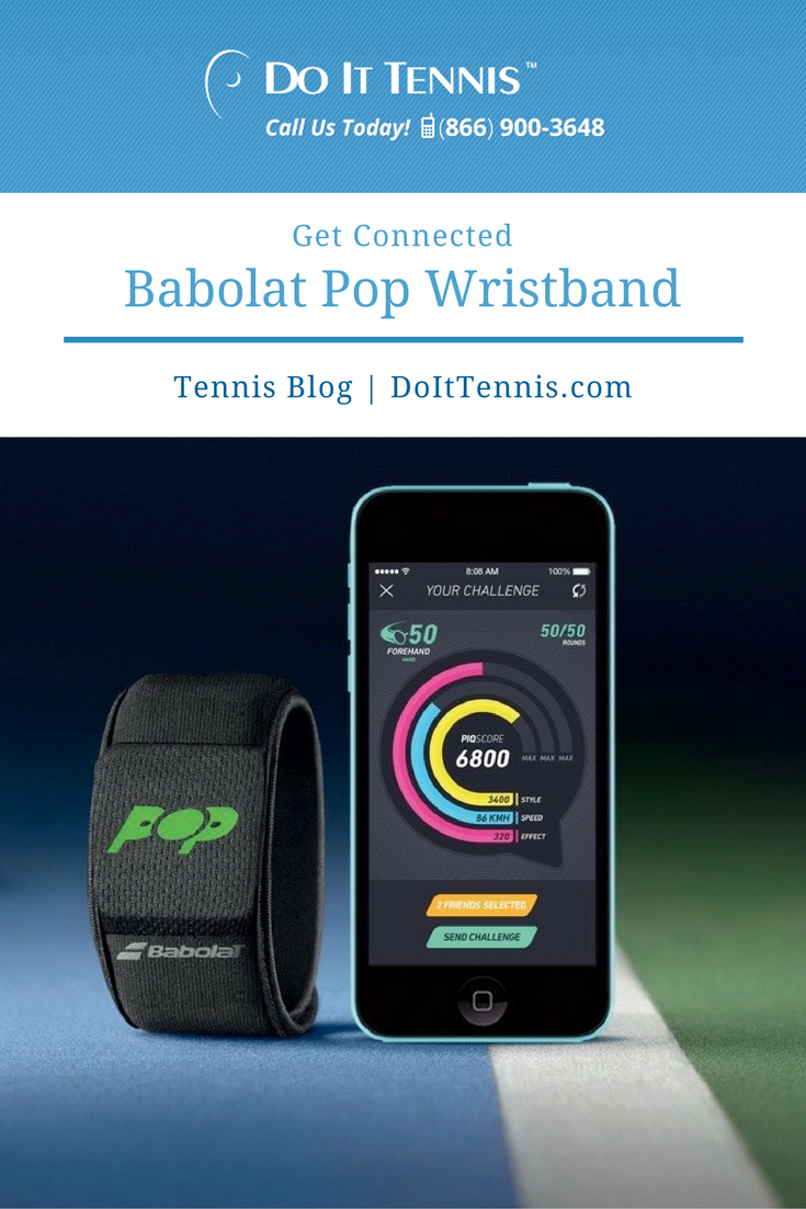Get Connected with the Babolat Pop Wristband Stars & Stripes Special Edition