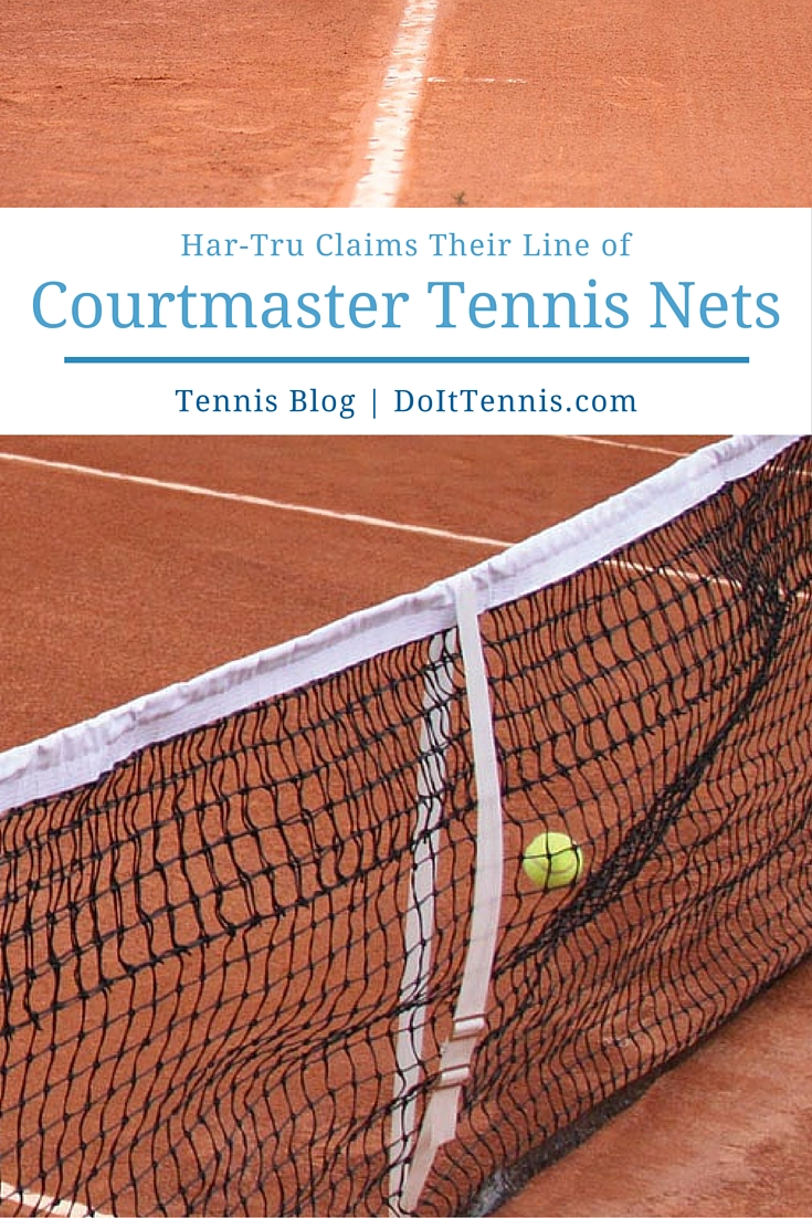 Har-Tru Lays Claim to Courtmaster Tennis Nets