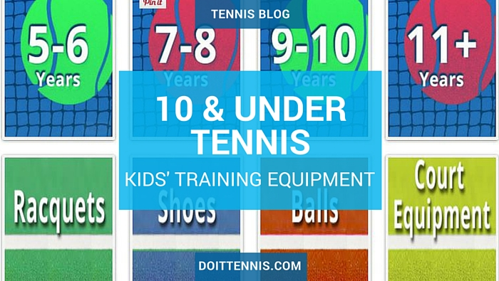Kids' 10 and Under Tennis Training Equipment