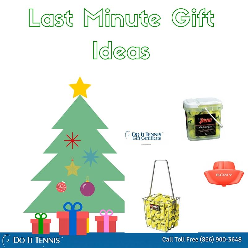 Last minute tennis gift ideas