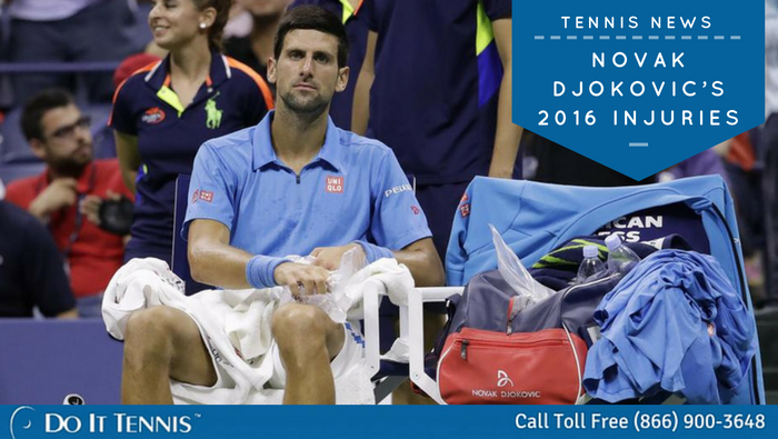 Novak Djokovic's 2016 injuries--a sign of things to come