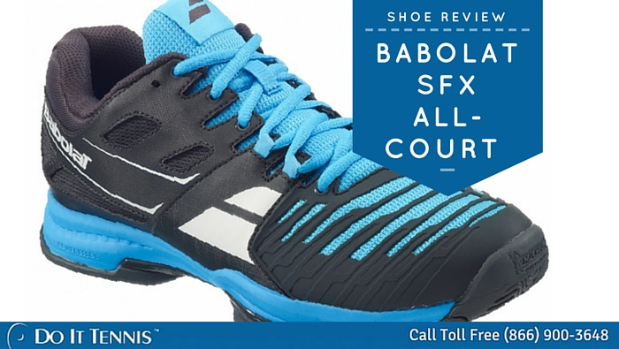 Our Thoughts on the New Babolat SFX Tennis Shoes