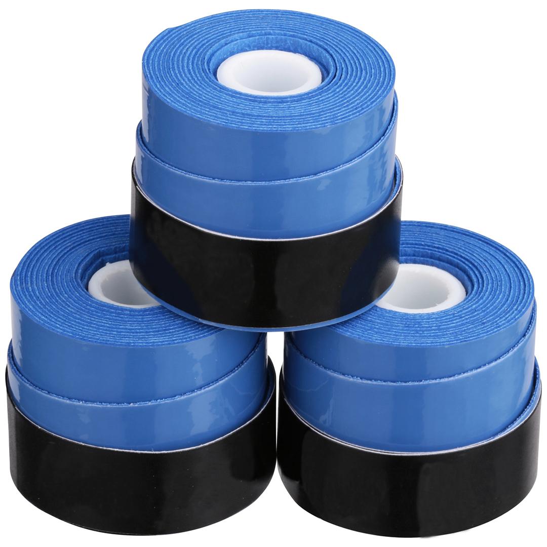 Overgrip 3-Pack Blue Set Kit Bundle Juniors Adults Girls Boys Kids Men Ladies Tennis Racket Racquet