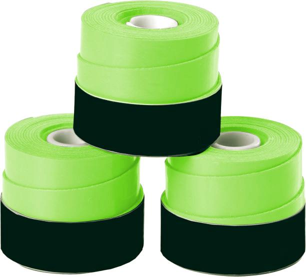 Overgrip 3-Pack Green Set Kit Bundle Juniors Adults Girls Boys Kids Men Ladies Tennis Racket Racquet