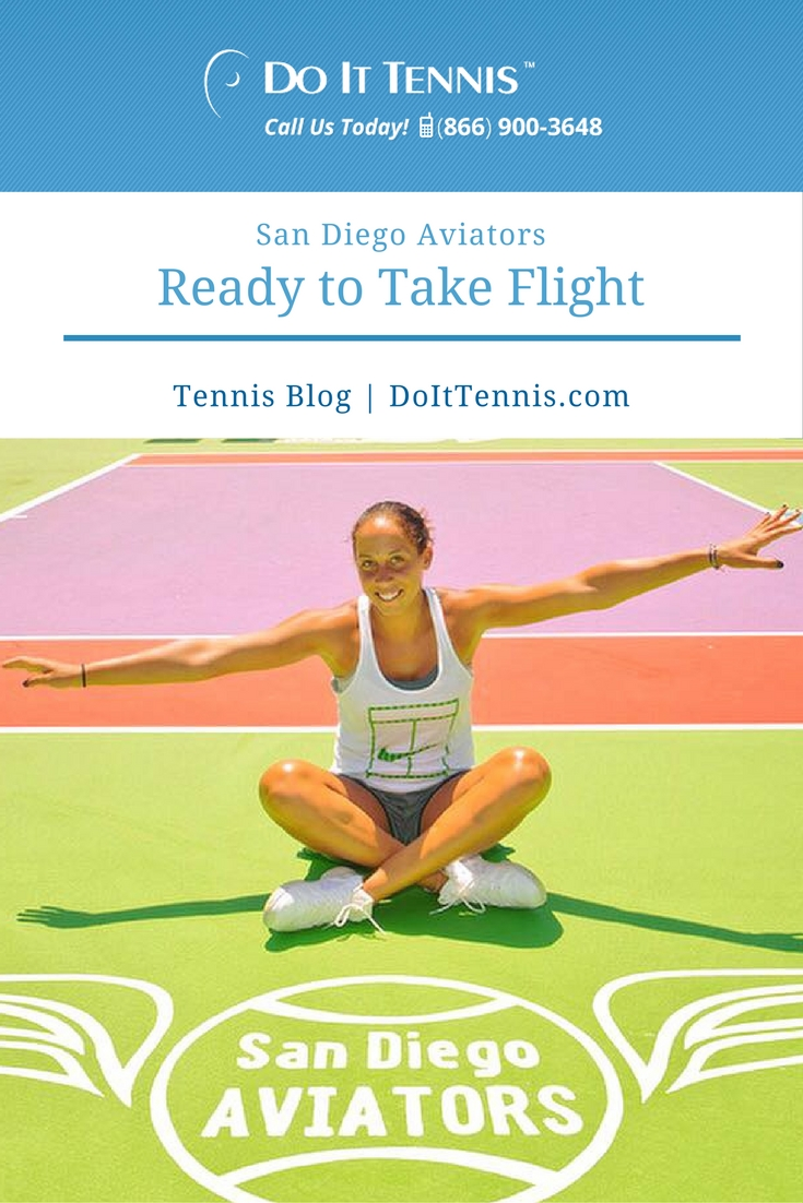 San Diego Aviators Ready to Take Flight for 2016 Mylan World Team Tennis Season
