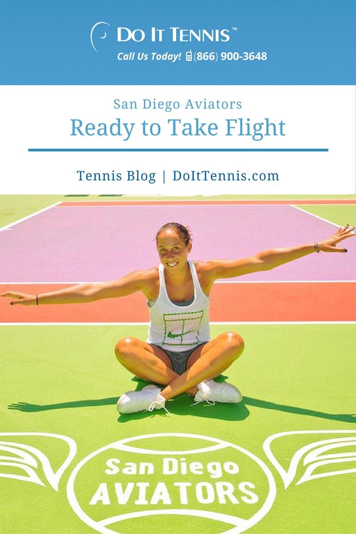 San Diego Aviators Ready to Take Flight for 2016 Mylan World Team Tennis Season