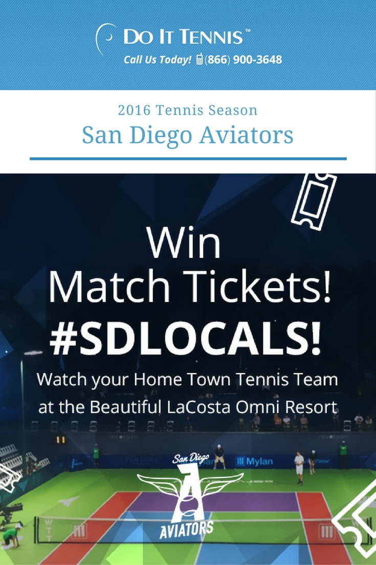 San Diego Aviators lead Orange County in WTT opener series