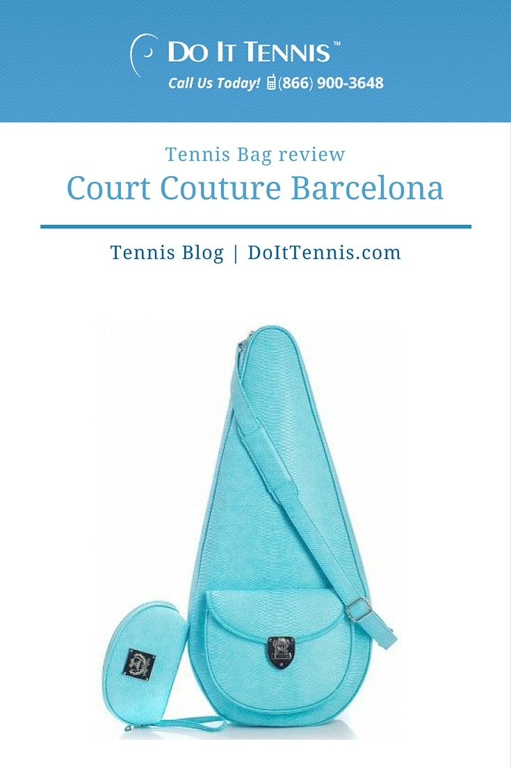 Tennis Bag Review Court Couture Barcelona Tennis Bags for Women Who Love Fashion