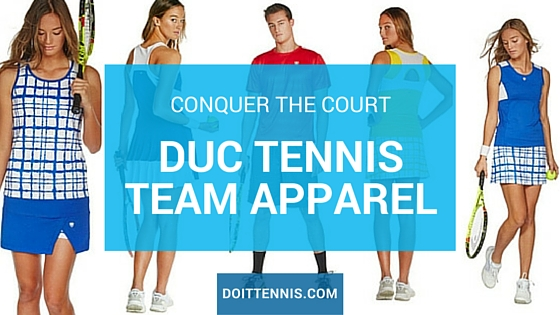 Conquer the Court with DUC Tennis Team Apparel<br />