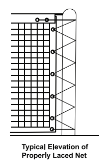 CE - Net Lacing Elevation