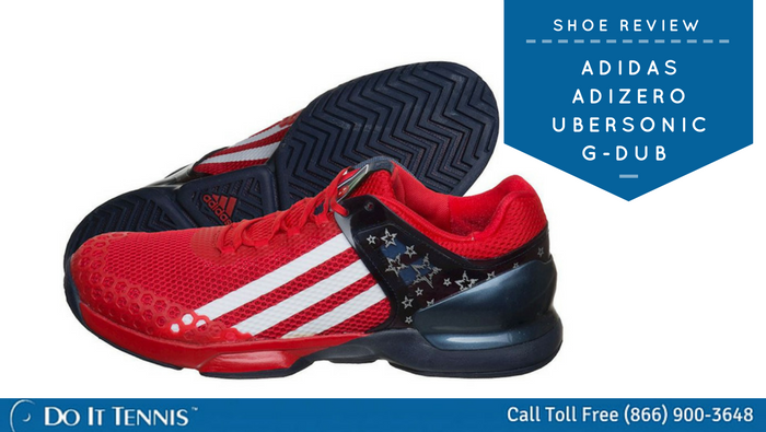 Tennis Shoe Review  Adidas Adizero Ubersonic G-Dub - Tennis Blog ... 483f22979
