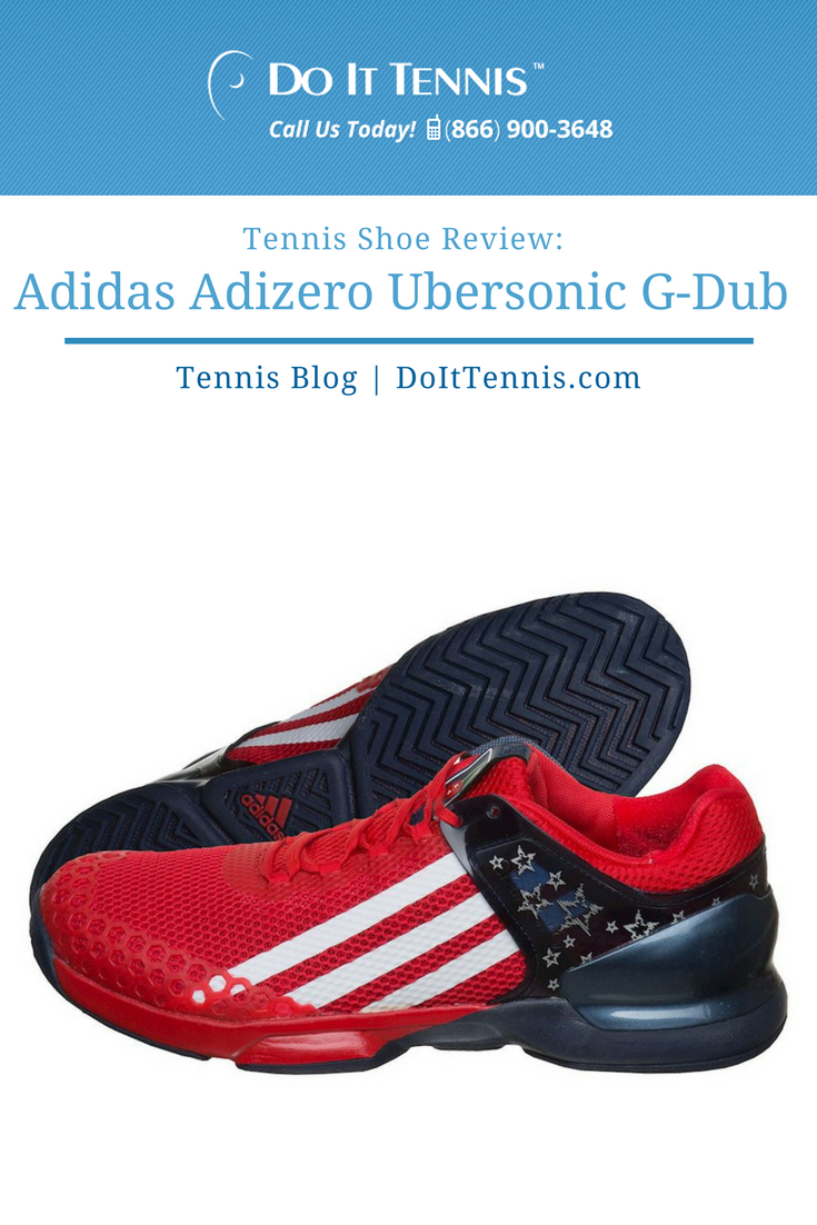 Tennis Shoe Review Adidas Adizero Ubersonic G-Dub