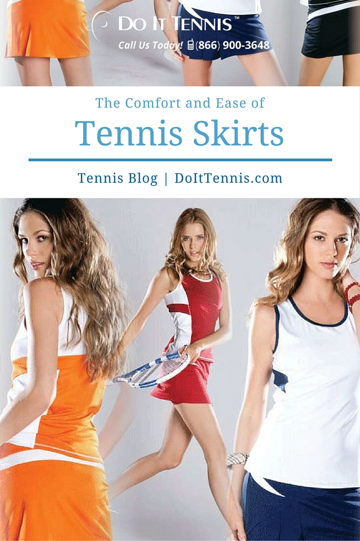 The Comfort and Ease of Tennis Skirts