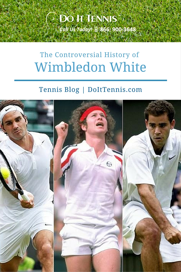 The Controversial History of Wimbledon White