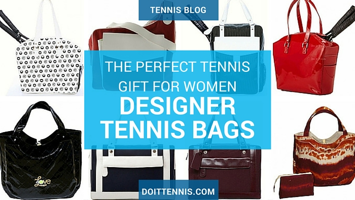 The perfect tennis gift for women is a designer tennis bag