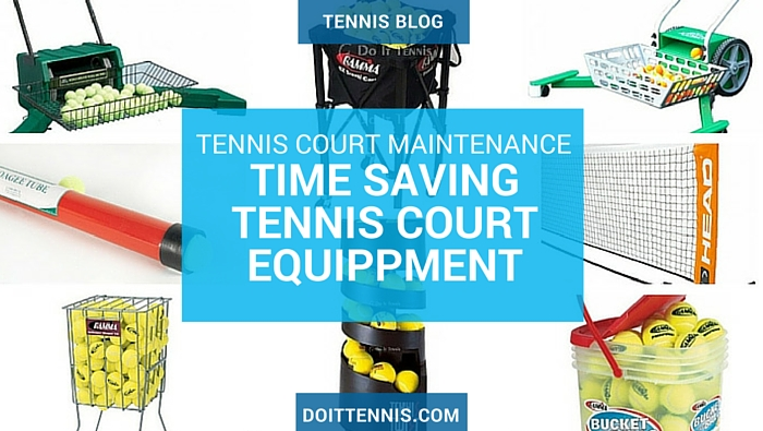 Time Saving Tennis Court Equippment