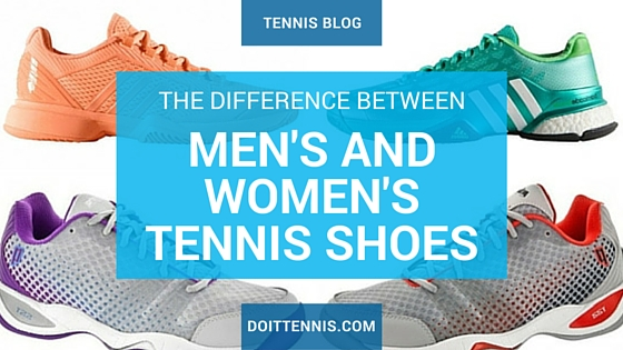 lowest price f7d52 d5d20 Understanding the Difference Between Men s and Women s Tennis Shoes -  Tennis Blog - DoItTennis