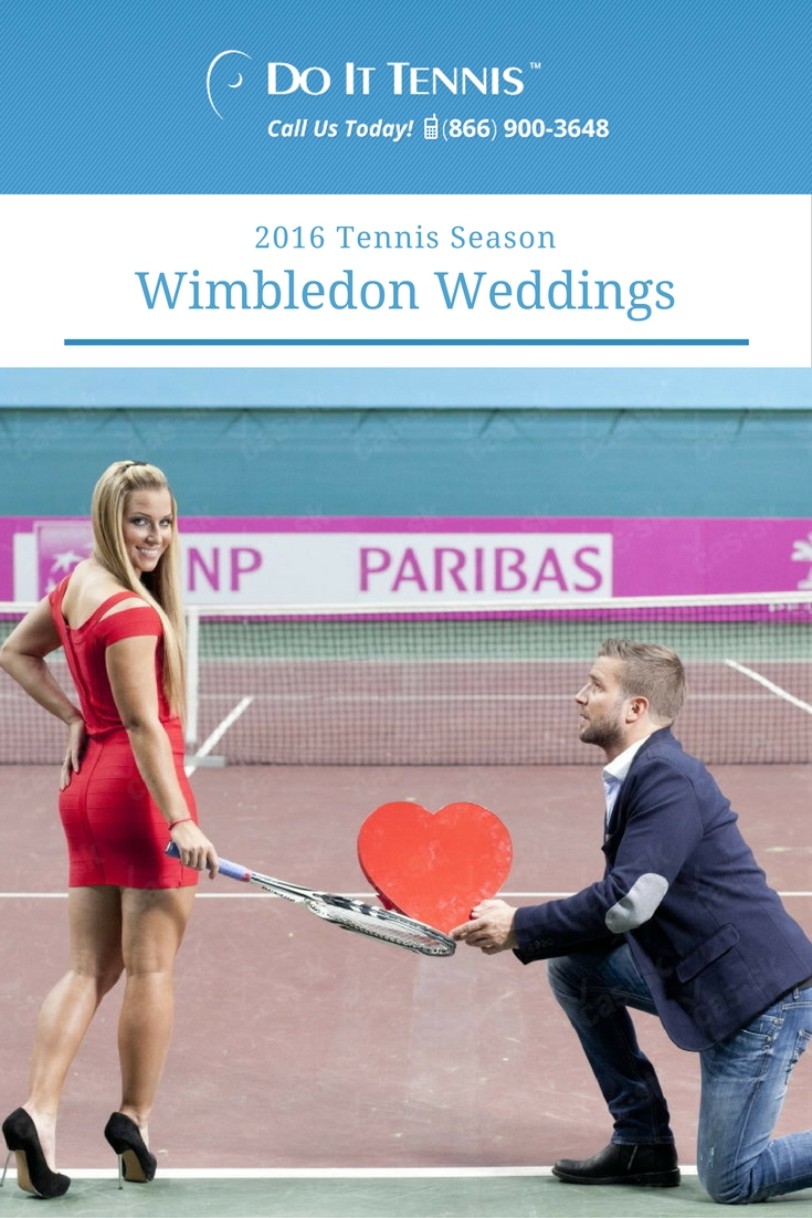 What is it about Wimbledon and Weddings