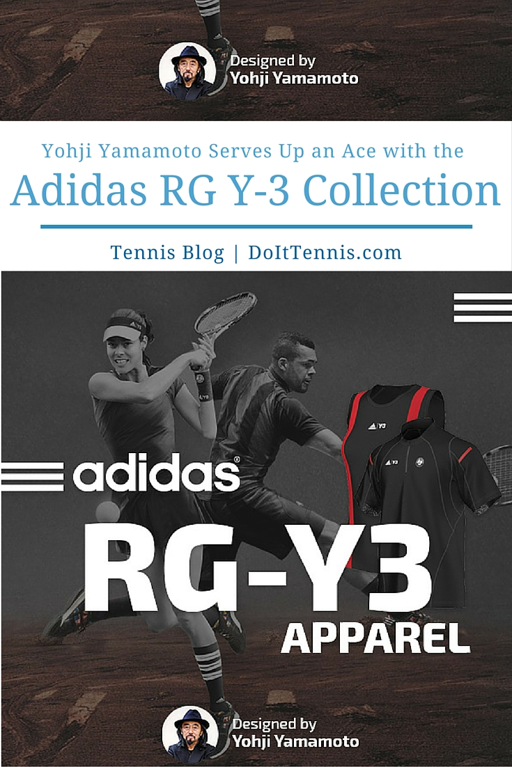 82a993caf7f38 Yohji Yamamoto Serves Up an Ace with the Adidas Roland Garros Collection by  Y-3 - Tennis Blog - DoItTennis