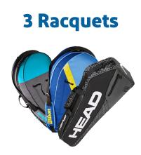 3 Racquet Tennis Bags