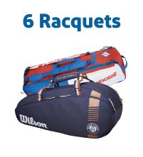 6 Racquet Tennis Bags