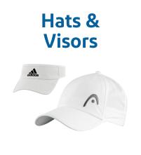 Wimbledon White Tennis Hats & Visors