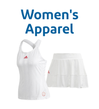 Wimbledon White Women's Tennis Apparel