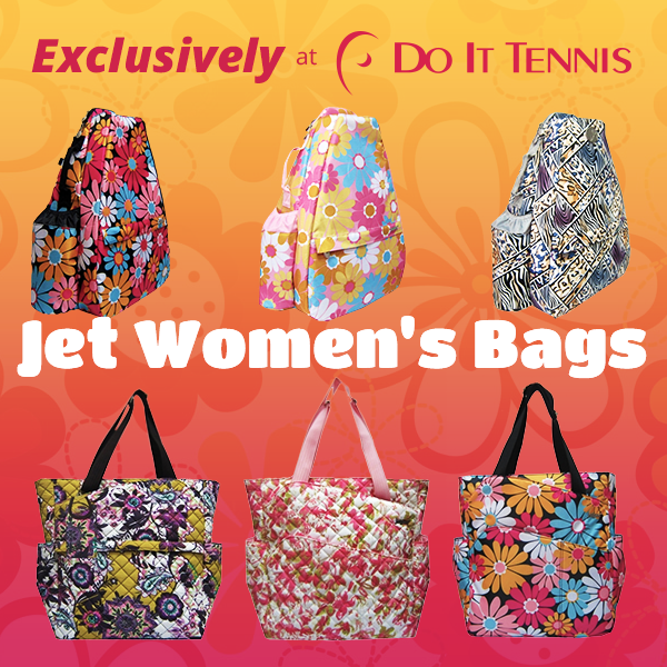 Jet Tennis Bags are Back! Exclusively at Do It Tennis