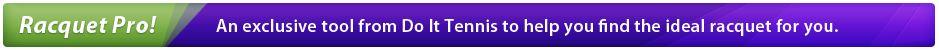 Racquet Pro- Tennis Racquet Rating Tool