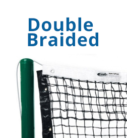 Choosing a tennis net - double Braided tennis nets