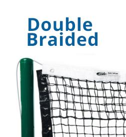 Choosing a tennis net - double Braided tennis nets