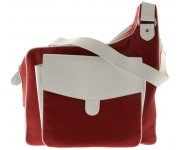 Cortiglia sport ruby red messenger bag
